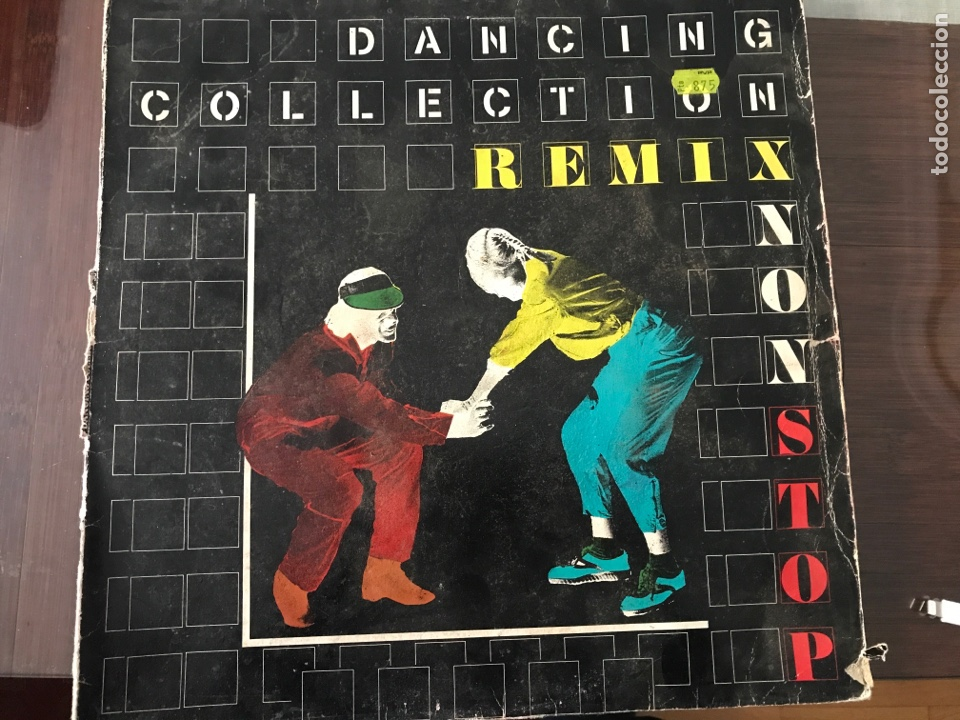 DANCING COLLECTION REMIX LP VARIOS (Música - Discos - LP Vinilo - Disco y Dance)