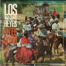 Discos de vinilo: LOS HERMANOS REYES - EN EL ROCIO / EP HISPAVOX DE 1967 / BUEN ESTADO RF-4853. Lote 244966790
