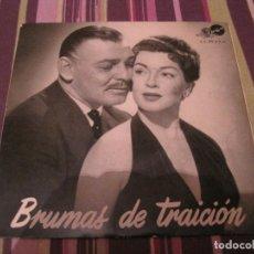 Discos de vinilo: EP BRUMAS DE TRAICION MGM 37045 VARIOS ARTISTAS BANDA SONORA. Lote 244969485