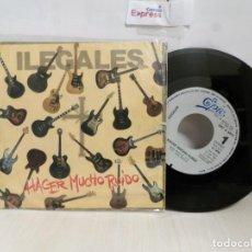 Discos de vinilo: ILEGALES --HACER MUCHO RUIDO --1985 CBS- MADRID. Lote 244969660