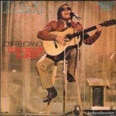 Discos de vinilo: JOSE FELICIANO - DOS CRUCES, EL JINETE / SINGLE RCA DE 1971 / BUEN ESTADO RF-4872. Lote 244970635