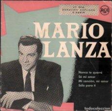 Discos de vinilo: MARIO LANZA - NUNCA TE QUERRE, SE MI AMOR, SOLO PARA TI.../ EP RCA / BUEN ESTADO RF-4877. Lote 244971080