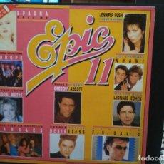 Discos de vinilo: DOBLE LP EPIC 11 PERALES , DUO DINAMICO,TIJERITAS, MPIMPINELA ,EUROPE, ETC PEPETO. Lote 244972845