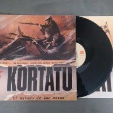 Dischi in vinile: LP KORTATU. EL ESTADO DE LAS COSAS. SOÑUA, 1986.. Lote 244974845