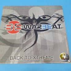 Discos de vinilo: DISCO DE VINILO - BACK TO XTREME - WARBEAT. Lote 244979125