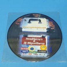 Discos de vinilo: DISCO DE VINILO - HEADHORNY'S & DJ MIGUELSERNA. Lote 244979950