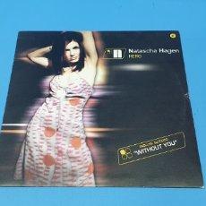 Discos de vinilo: DISCO DE VINILO - NATASCHA HAGEN - HERO. Lote 244985195