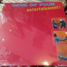 Discos de vinilo: GANG OF FOUR-ENTERTAINMENT! LP VINILO REEDICIÓN OFICIAL 2014. PRECINTADO. Lote 244986275