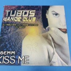 Discos de vinilo: DISCO DE VINILO - GEMM - KISS ME - TUBOS DANCE CLUB. Lote 244990315