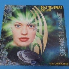 Discos de vinilo: DISCO DE VINILO - BEAT BROTHERS - FEAT. N'DEE - SERENADE THE MOONLIGHT. Lote 244991335