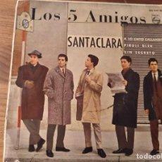Discos de vinilo: LOS CINCO AMIGOS - PIRULI BLEK + 3 **********RARO EP ROCK & ROLL ESPAÑOL 1962. Lote 244991840