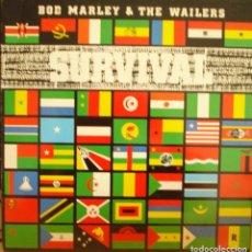 Discos de vinilo: BOD MARLEY & THE WAILERS SURVIVAL. Lote 244995470