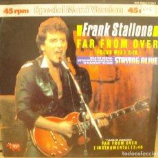 Discos de vinilo: FRANK STALLONE SPECIAL MAXI VERSION. Lote 244996930