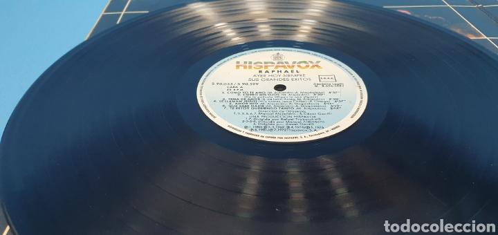 Discos de vinilo: DISCO DE VINILO - RAPHAEL - AYER HOY SIEMPRE SUS GRANDES ÉXITOS - Foto 7 - 244998080