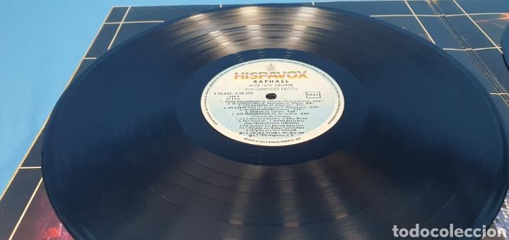Discos de vinilo: DISCO DE VINILO - RAPHAEL - AYER HOY SIEMPRE SUS GRANDES ÉXITOS - Foto 9 - 244998080