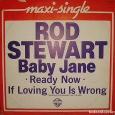 Discos de vinilo: ROD STEWART MAXI SINGLE. Lote 244999280