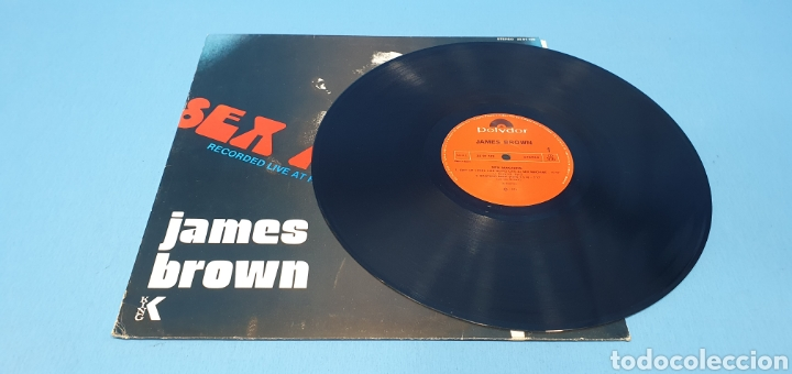 Discos de vinilo: DISCO DE VINILO - SEX MACHINE - JAMES BROWN - 1974 - 1984 - Foto 3 - 245002980