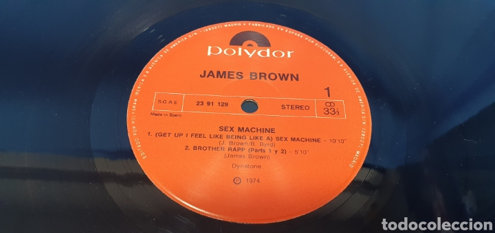 Discos de vinilo: DISCO DE VINILO - SEX MACHINE - JAMES BROWN - 1974 - 1984 - Foto 4 - 245002980
