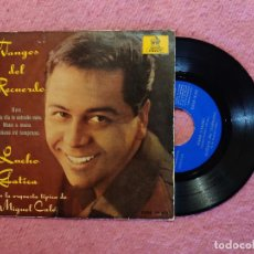 Discos de vinilo: EP LUCHO GATICA UNO / CADA DIA TE EXTRAÑO MAS / MANO A MANO +1 - DSOE 16472 - SPAIN PRESS (VG++/EX-). Lote 245005515
