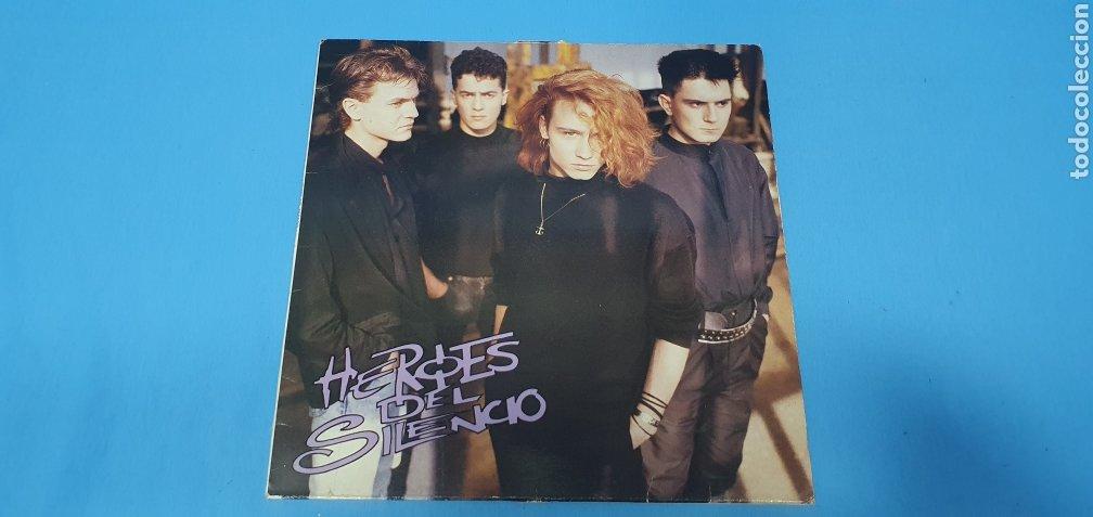 DISCO DE VINILO - HEROES DEL SILENCIO - HEROE DE LEYENDA - 1987 (Música - Discos de Vinilo - Maxi Singles - Solistas Españoles de los 70 a la actualidad)