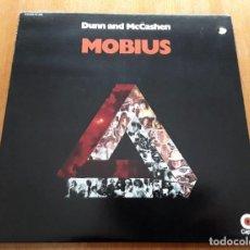 Discos de vinilo: DUNN & MCCASHEN MOBIUS (CAPITOL ST-285 - USA 1969) FOLK ROCK-POPSIKE ORIG LP. Lote 245014090