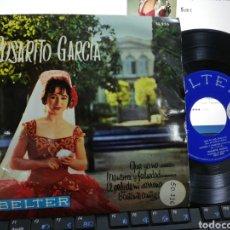 Discos de vinilo: ROSARITO GARCÍA EP QUE YO NO + 3 1961. Lote 245017405