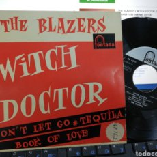 Discos de vinilo: THE BLAZERS EP WITCH DOCTOR + 3 ESPAÑA 1958. Lote 245019185