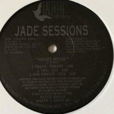 Discos de vinilo: JADE SESSIONS - NIGHT MUSIC - 1991. Lote 245031145