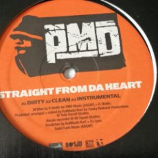 Discos de vinilo: PMD - STRAIGHT FROM DA HEART / NEXT CHAPTER - 2003. Lote 245031850