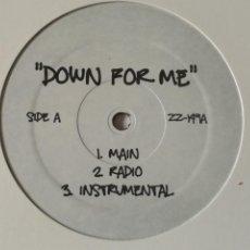 Discos de vinilo: VARIOUS - DOWN FOR ME / SHAKE. Lote 245038895