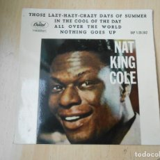 Discos de vinilo: NAT KING COLE, EP, IN THE COOL OF THE DAY + 3 , AÑO 1963. Lote 245052335