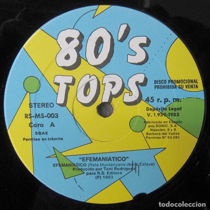 Discos de vinilo: EFEMANIÁTICO - EFEMANIÁTICO / EFEMANIÁTICO REMIX DISCOTECA - 1983 - VALENCIA, EFEMÁNIA - Foto 5 - 245063460