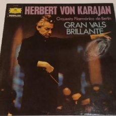Disques de vinyle: A3- HERBERT VON KARAJAN - ORQUESTA FILARMÓNICA DE BERIIN -VIN 12 DIS VG+ POR VG+. Lote 245064470