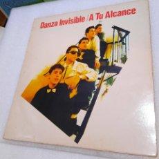 Discos de vinil: DANZA INVISIBLE - A TU ALCANCE. Lote 245064765