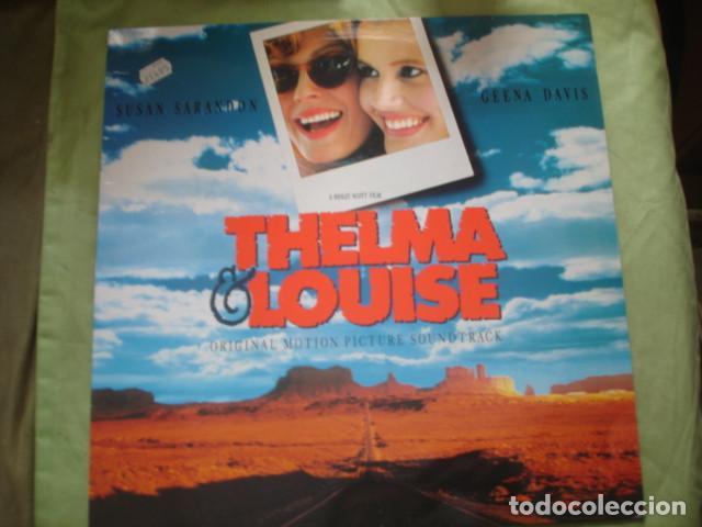 THELMA & LOUISE ORIGINAL MOTION PICTURE SOUNDTRACK (Música - Discos - LP Vinilo - Bandas Sonoras y Música de Actores )