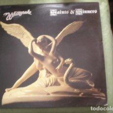 Discos de vinilo: WHITESNAKE SAINTS & SINNERS. Lote 245067240