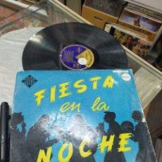 Discos de vinilo: ORQUESTA LA PRINCIPAL DE GERONA CANTA MIGUEL GIMENO LP FIESTA EN LA NOCHE ESCUCHADO. Lote 245068595