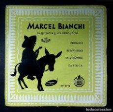 Discos de vinilo: MARCEL BIANCHI SU GUITARRA Y SUS BRAZILIEROS - FRENESI - EP - VOGUE. Lote 245071445
