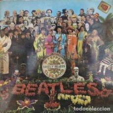 Discos de vinilo: THE BEATLES - SGT. PEPPER'S LONELY ' SPANISH LP 1ST 1967 ' MOLF 9000 ODEON MONO. Lote 245077830