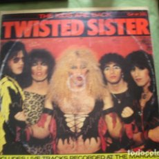 Discos de vinilo: TWISTED SISTER THE KIDS ARE BACK. Lote 245078115