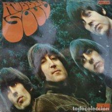 Discos de vinilo: THE BEATLES - RUBBER SOUL - SPANISH LP 1ST PRES 1966- MOCL 5.300 ODEON MONO. Lote 245080530