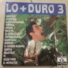 Discos de vinilo: LO + DURO 3. Lote 245086420