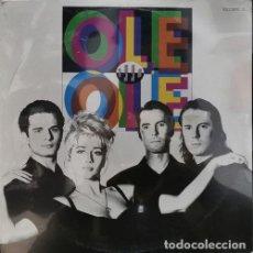 Disques de vinyle: OLE OLE - MARTA SANCHEZ - 1990 - LP EDICION MEXICANA - NUEVO Y PRECINTADO. Lote 245086430