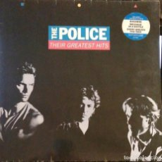 Discos de vinilo: THE POLICE. THEIR GREATEST HITS. Lote 245089590