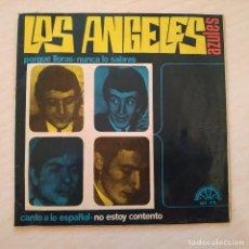 """Disques de vinyle: LOS ANGELES AZULES - CANTO A LO ESPAÑOL + 3 RARO 7"""" EP SELLO BERTA AÑO 1966 PORTADA DISTINTA VG+. Lote 245090295"""