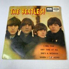Discos de vinilo: EP THE BEATLES - I FEEL FINE - ESPAÑA - AÑO 1964 -DSOE 16.637. Lote 245092685