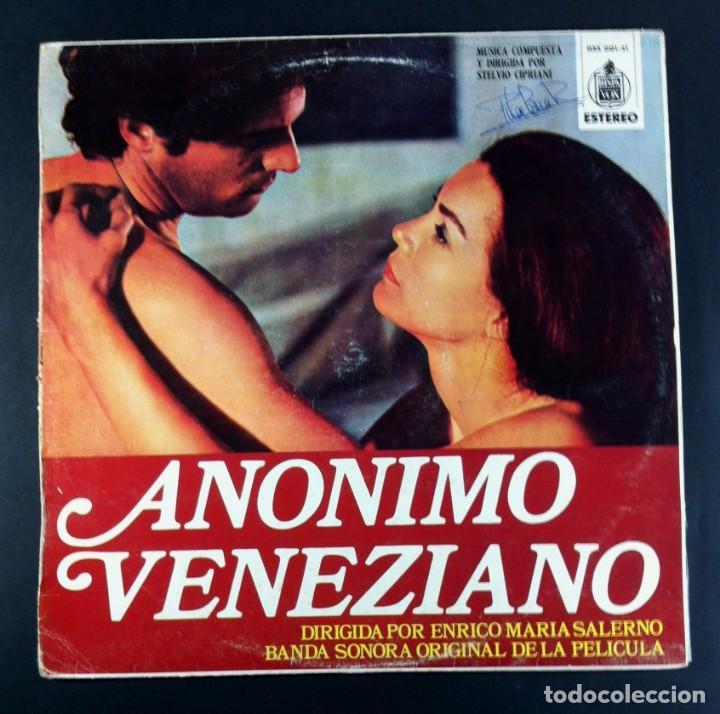 STELVIO CIPRIANI - ANONIMO VENEZIANO (BANDA SONORA ORIGINAL) - LP 1971 - HISPAVOX (Música - Discos - LP Vinilo - Bandas Sonoras y Música de Actores )