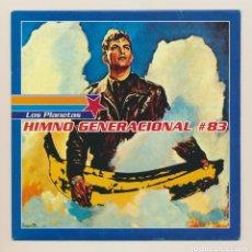 Discos de vinilo: LOS PLANETAS - HIMNO GENERACIONAL #83, (1995) SINGLE VINILO. EDICIÓN LIMITADA NUMERADA Nº 927. Lote 245098345