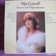 Disques de vinyle: LP - RAY CONNIFF Y SUS COROS - OTRA VEZ SOLO (SPAIN, CBS 1972). Lote 245102785