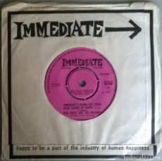 Discos de vinilo: FLEETWOOD MAC. MAN OF THE WORLD/ EARL VINCE & THE VALIANTS. SOMEBODY'S GONNA GET THEIR HEAD KICKED. Lote 245124570